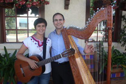 Julio Montero, right, with his daughter Claudia. Photo: Allison Jarrell