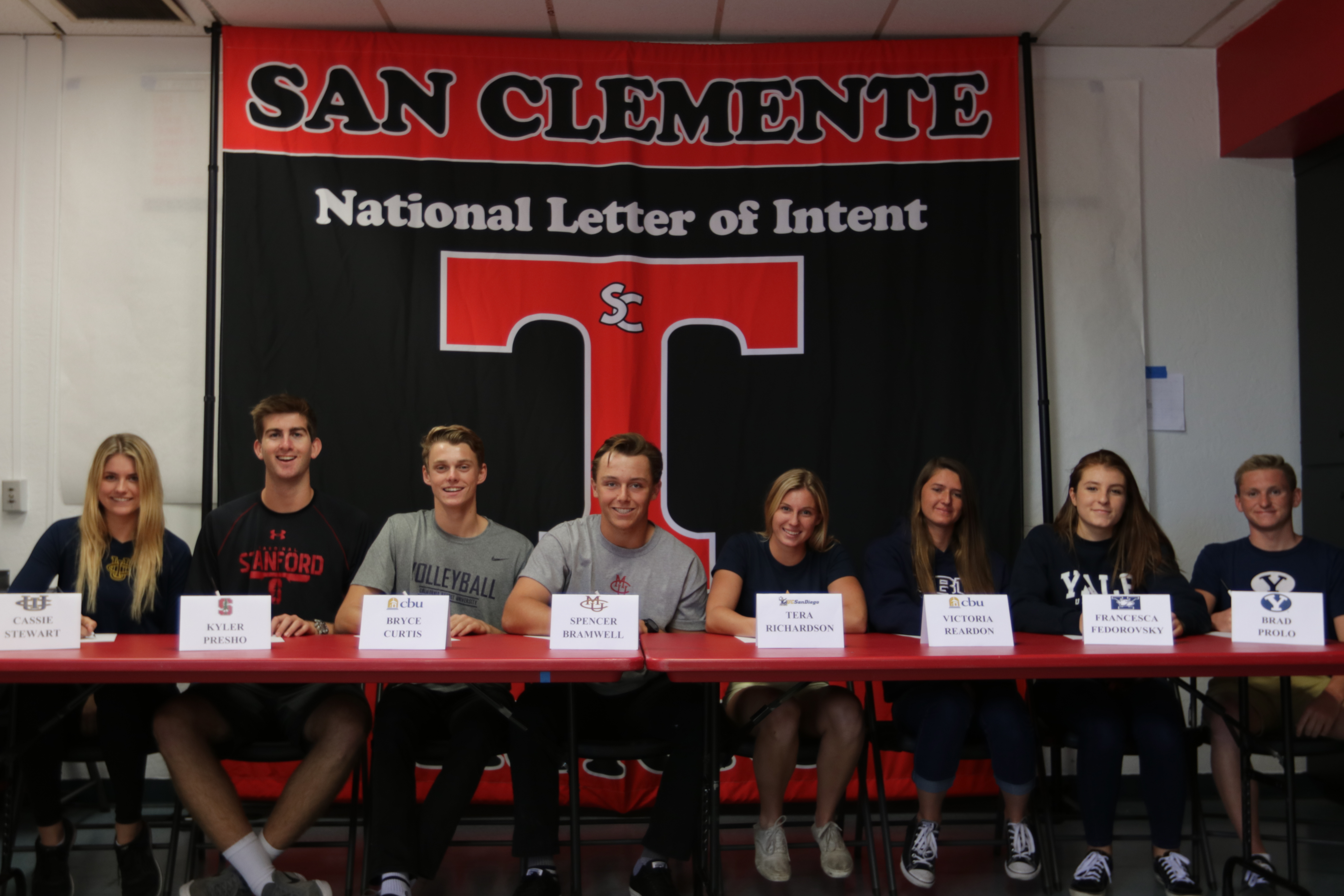 Signing Day: Triton Student Athletes Ink National Letter of Intent