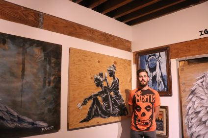 House of Trestles founder Joshua Host is looking to bring more artists from around the world to his location at 2717 S. El Camino Real in San Clemente. The artist residency program is just getting started, but its board members aim to get more exposure to it in the coming months. Photo: Eric Heinz