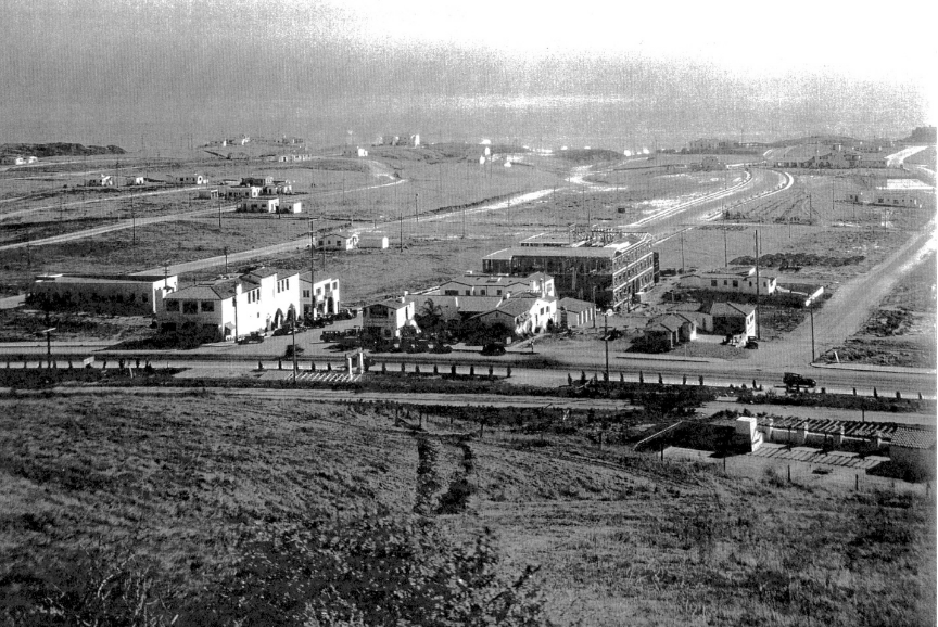 HistoricalHappenings: Pictured in 1925, this photograph shows Ole Hanson's dream come true as the Spanish Village by the Sea came to life. Photo: Courtesy of San Clemente Historical Society
