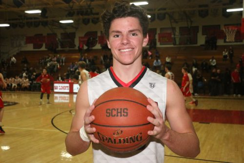 Blake Birmingham is averaging 19 points per game for San Clemente. Photo: Eric Heinz