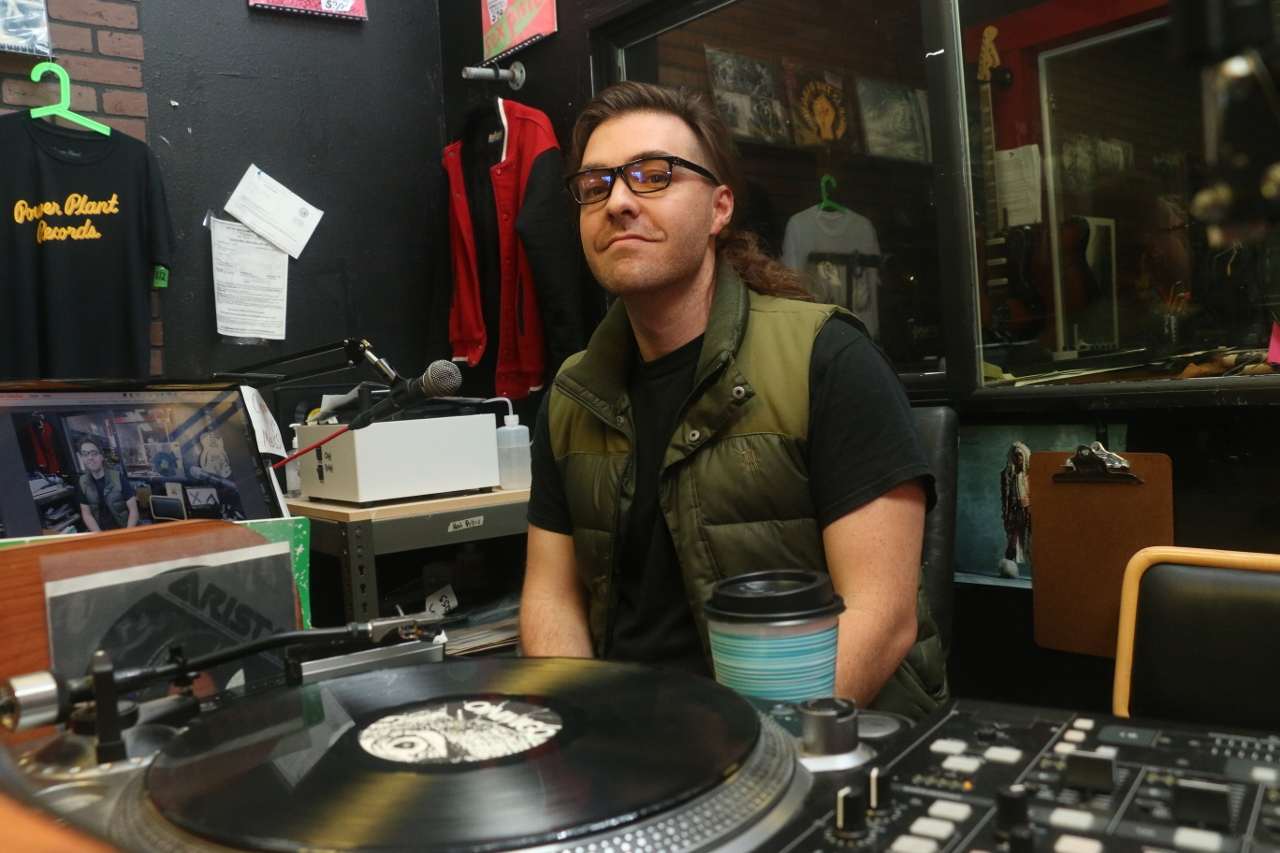 : Biff Cooper of Power Plant Records, which hosts the Reactor Radio station, has gathered new artists and broadcasters to develop the online radio station accessible via the store's website, www.powerplantrecords.com.
