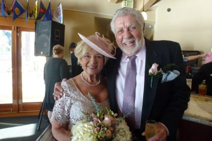 Chris Anastasio and his wife, Tina, were married after about 12 years of long distance courtship. Photo: Courtesy of Tom Blake