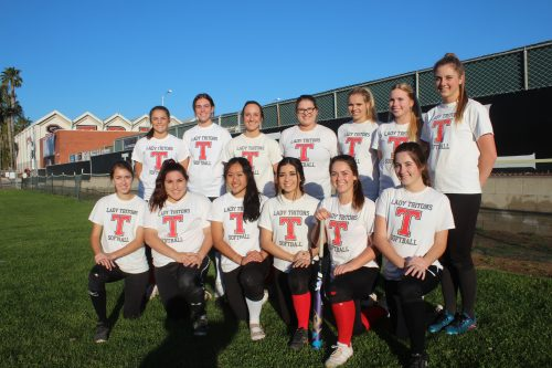 The San Clemente softball team will rely on strong pitching and the versatility of its roster as it heads into the new season. Photo: Steve Breazeale