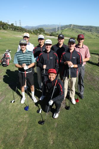 The San Clemente boys golf team will look to defend its South Coast League title in 2017. Photo: Lisa Free