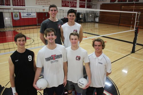 The San Clemente boys volleyball team returns six starters from last year's squad that reached the quarterfinals of the CIF-SS Division 1 Championships. Photo: Steve Breazeale