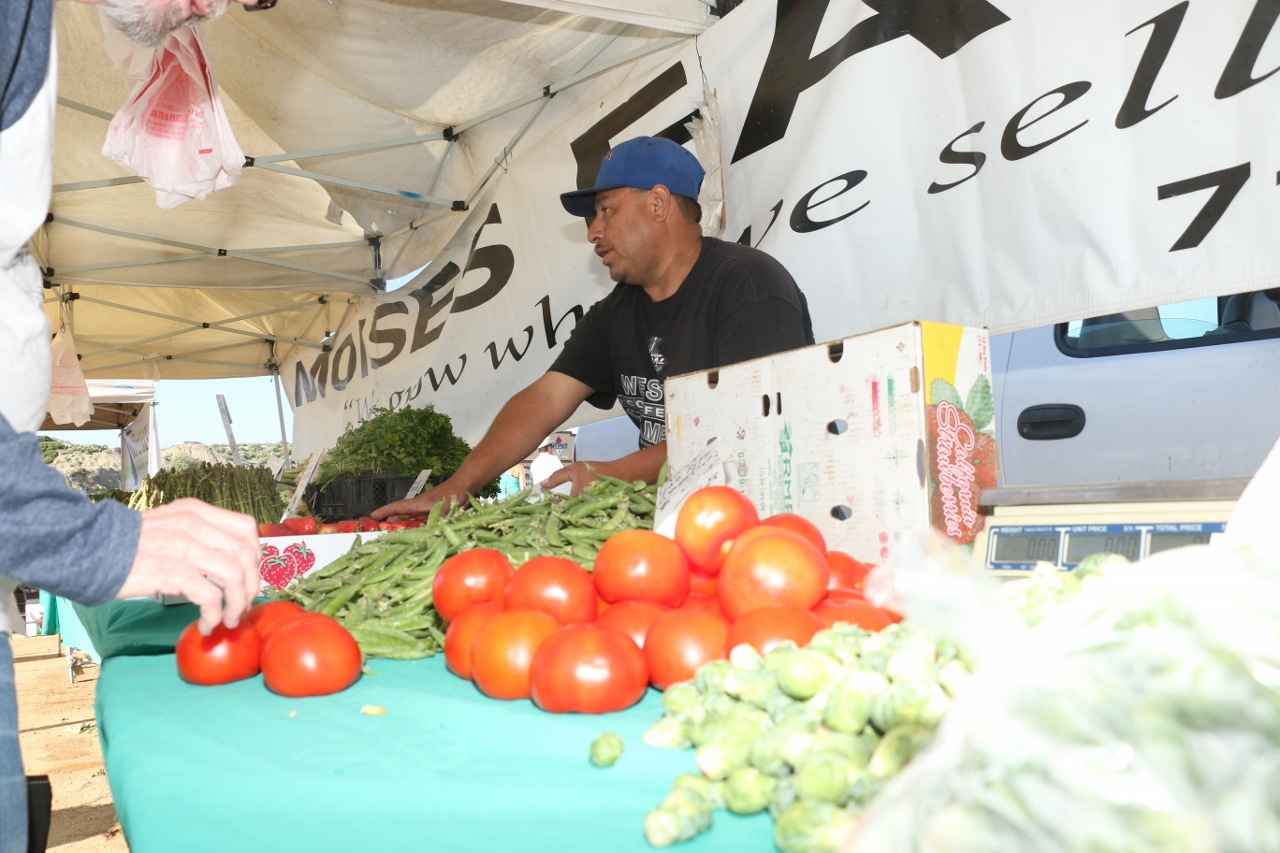 Vendors from all over Southern California attended the first North Beach farmers market on April 12.