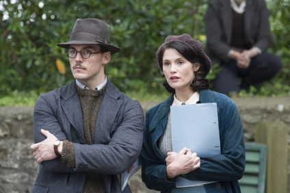 """M78 Sam Clafin and Gemma Arterton star in STX Entertainment's """"Their Finest"""".     Photo courtesy of STX Entertainment  Motion Picture Artwork © 2017 STX Financing, LLC. All Rights Reserved. PHOTO CREDIT Ð NICOLA DOVE"""