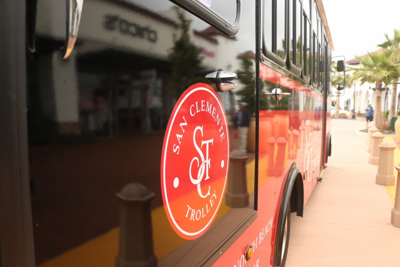 The San Clemente Summer Trolley Program begins May 26 with a ribbon cutting at Parque Del Mar at 10 a.m. Photo: Eric Heinz