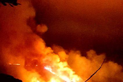 Camp Pendleton wildfire. Photo: Eric Alm
