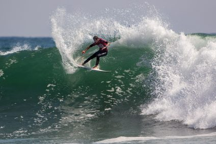Crosby Colapinto of San Clemente was crowned the 2016 Boys U16 national champion and earned a spot on the USA Junior Surf Team. This year's USA Surfing Championships are June 13-17 in Oceanside. Photo: Surfing America/Jack McDaniel