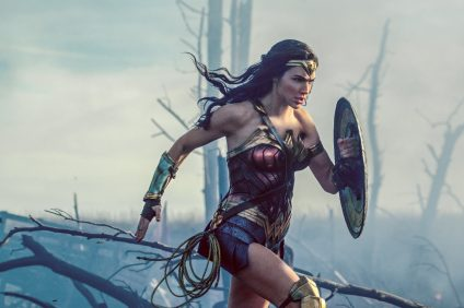 Wonder Woman. Photo: Courtesy of Warner Bros. Entertainment, Inc. and Ratpac Entertainment, LLC. Photo by Clay Enos/DC Comics