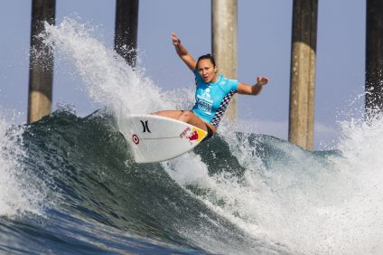 Carissa Moore. Photo: Courtesy of the World Surf League