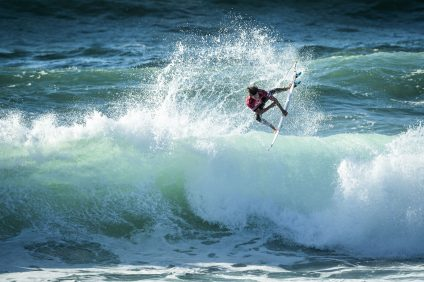 Evan Geiselman (USA) Placed 3d in Heat 18 of Round Two at Billabong Pro Cascais 16