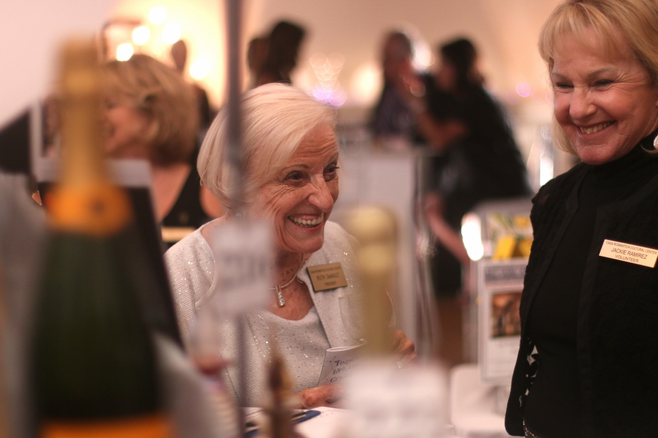 More than a net of $130,000 was raised at this year's Toast to the Casa, which will provide funding for programs for the garden and cultural center.