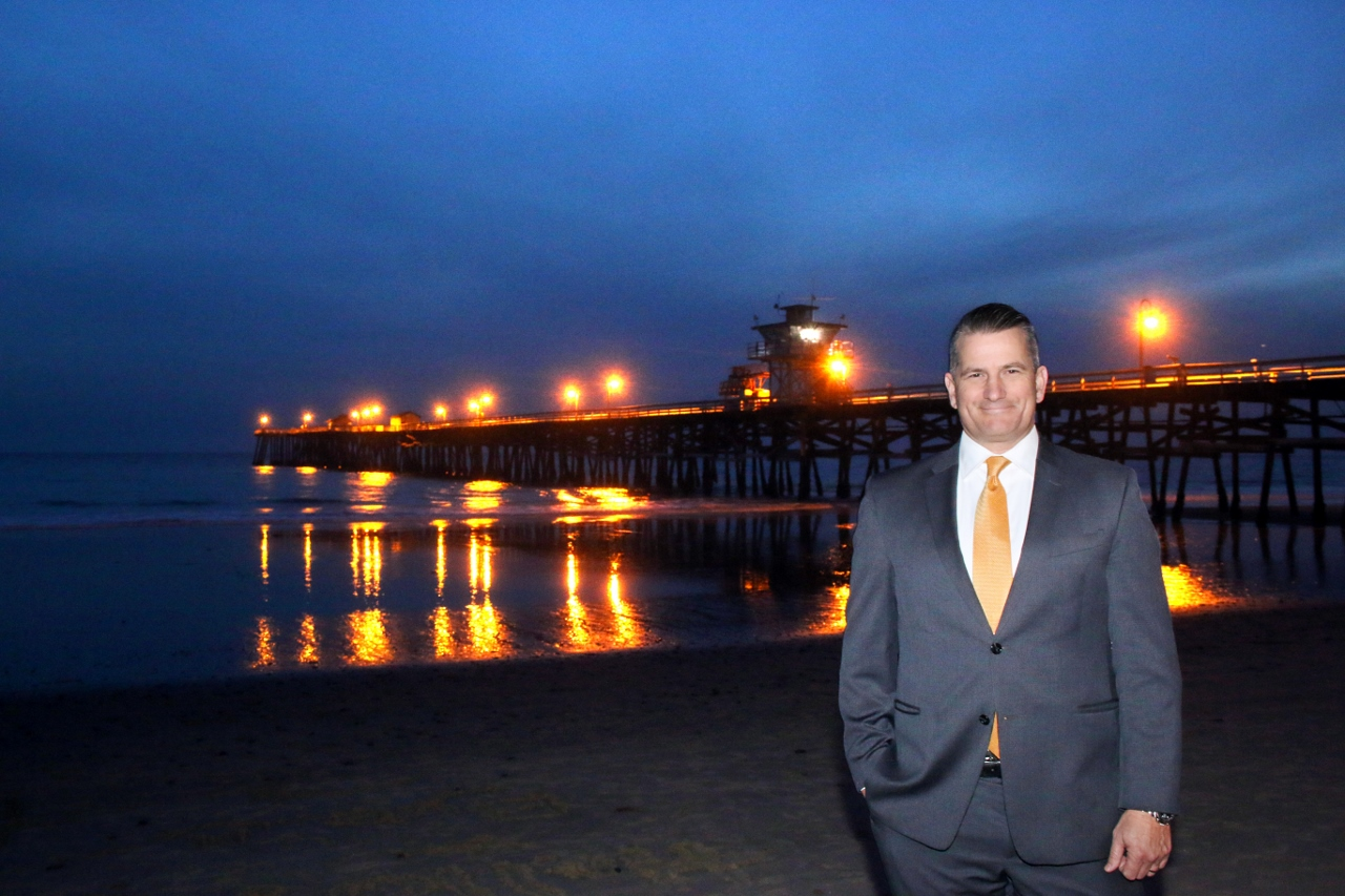 Tim Brown was selected as the 2018 mayor of San Clemente. Brown, who was first elected in 2010, is serving his second term as the leader of the city. Photo: Eric Heinz