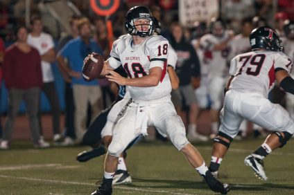 Sam Darnold threw for nearly 3,000 yards with 39 touchdowns and rushed for 785 yards and 13 touchdowns in his senior year as he led San Clemente to a 12-2 record and the CIF-SS Southwest Division final. Photo: File