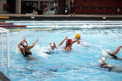 girls water polo clark