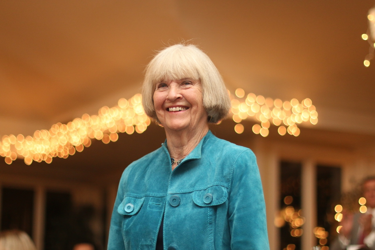 Barbara Barnes was awarded the Outstanding Lifetime Achievement honor.