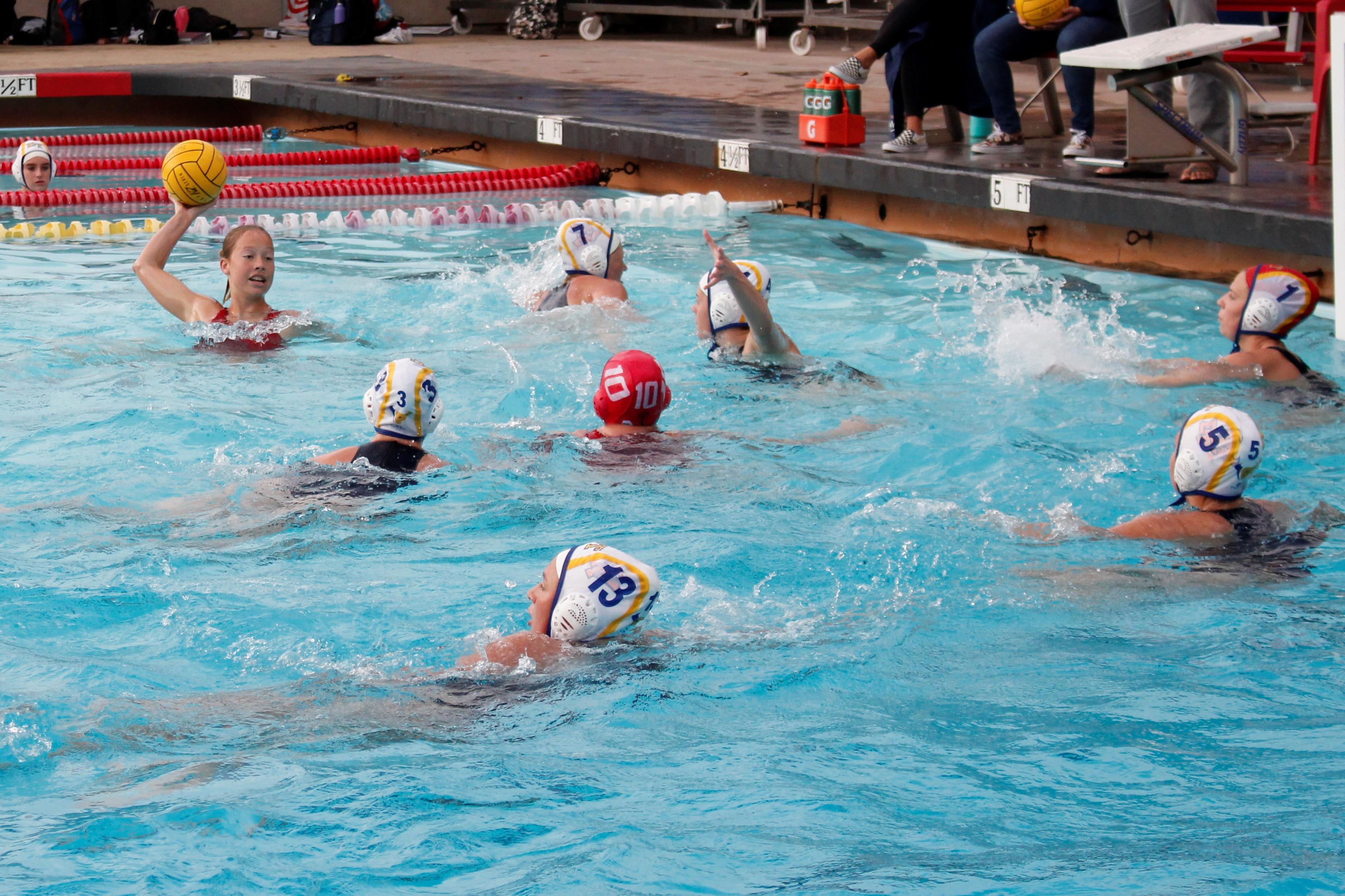 girls water polo