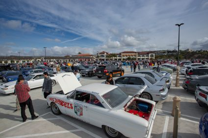 Hundreds of car enthusiasts have consistently attended the South Orange County Cars and Coffee gathering on Saturdays at the Outlets at San Clemente.