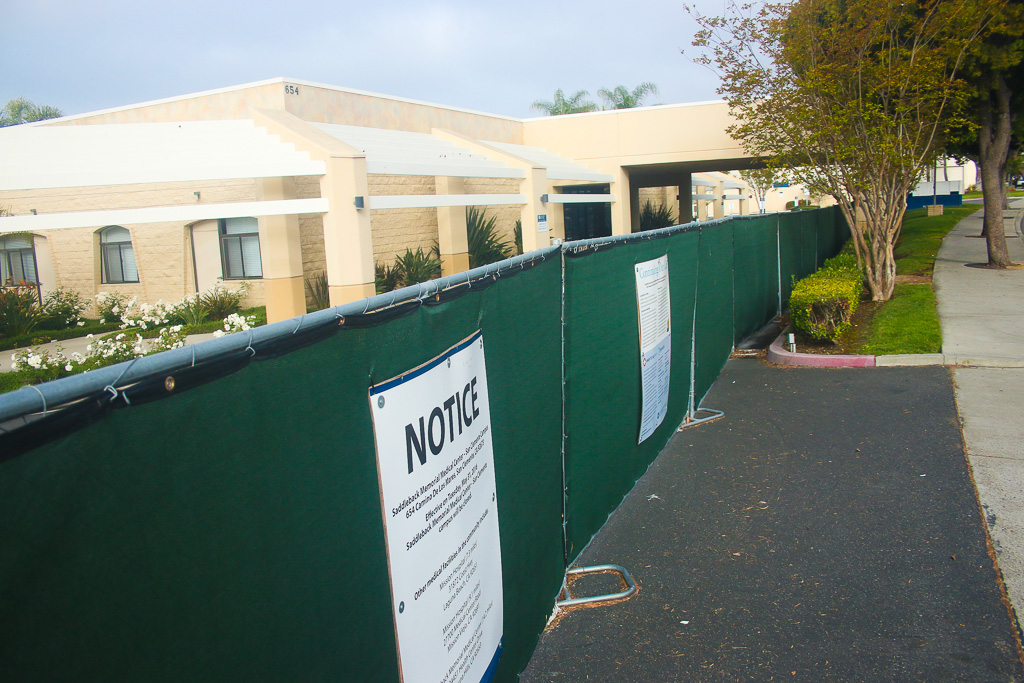 Saddleback Memorial Medical Center, San Clemente's only hospital until 2016, has sat closed for three years. Photo: Eric Heinz