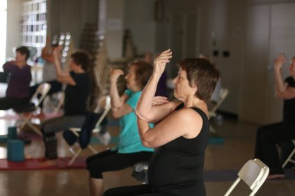 Yoga for Boomers. Photo: Eric Heinz