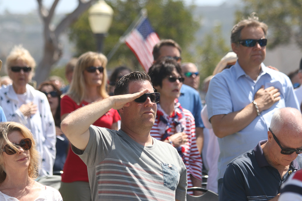 Thousands attended San Clemente's two Memorial Day ceremonies on May 28 at the San Clemente Community Center and Park Semper Fi.