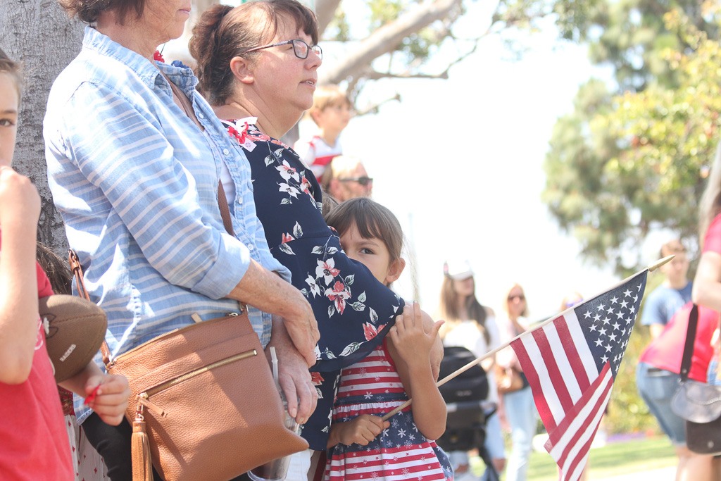 It was a family affair at the Memorial Day ceremony on May 28 at the San Clemente Community Center.