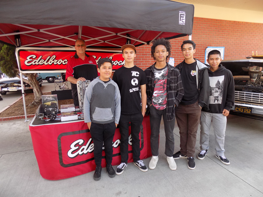 Students of the San Clemente High School Auto Academy recently met with industry professionals during an Industry Night and Car Show in 2018. Photo: FIle/Courtesy of Lou Leto