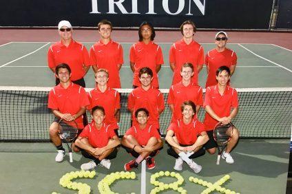 San Clemente boys tennis