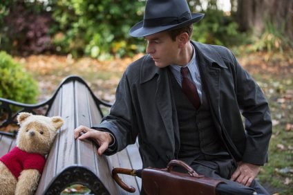 Christopher Robin (Ewan McGregor) with his longtime friend Winnie the Pooh. Photo: Courtesy of Walt Disney Pictures