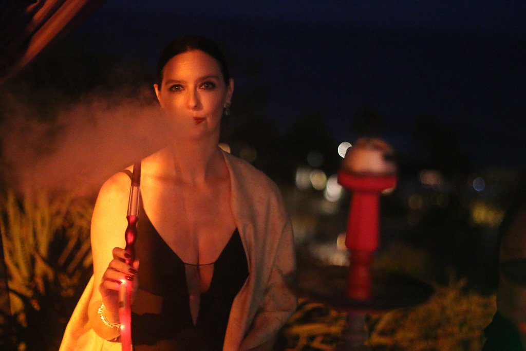 Hookahs and cigars, part of the 'Casablanca' theme, were available to patrons of age at the 16th annual Toast to the Casa on Saturday, Sept. 22. Photo: Eric Heinz