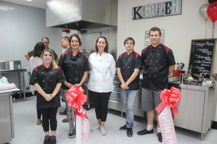 San Clemente High School celebrated the opening of its new Culinary Arts Center on Oct. 18. Photo: Chelsie Rex