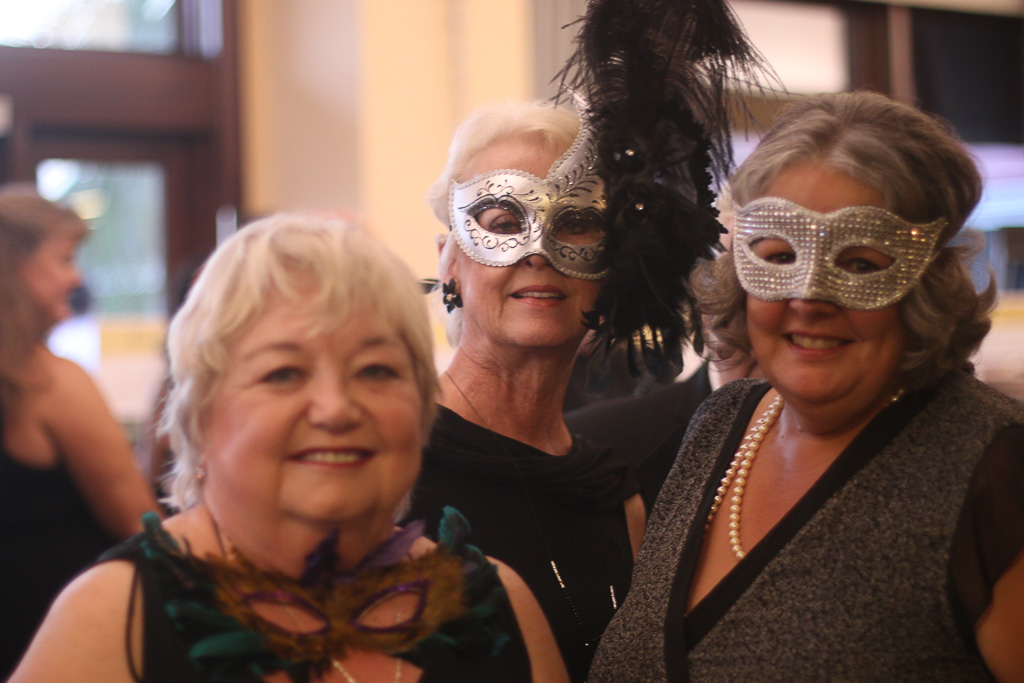 A masquerade ball was the theme of this year's Great Futures Gala for the Boys & Girls Club of the South Coast Area. Photo: Eric Heinz