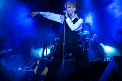 Musician David Brighton, who does a David Bowie tribute show, will be performing at The Coach House on Friday, Nov. 2. Photo: Courtesy of David Brighton