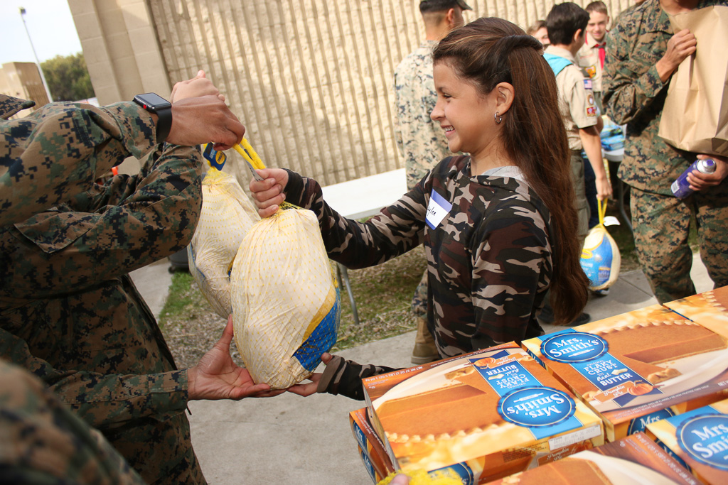 Bird is the Word: 1,000 Turkeys Donated to Camp Pendleton