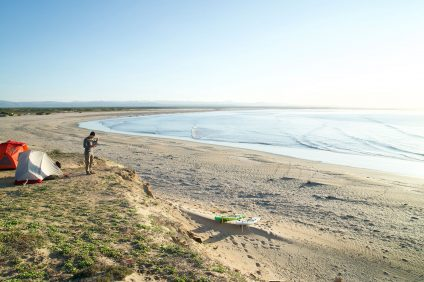 A golden moment for Ryan Higginbotham somewhere between Tijuana and Cabo. Photo: Courtesy of Ryan Higginbotham
