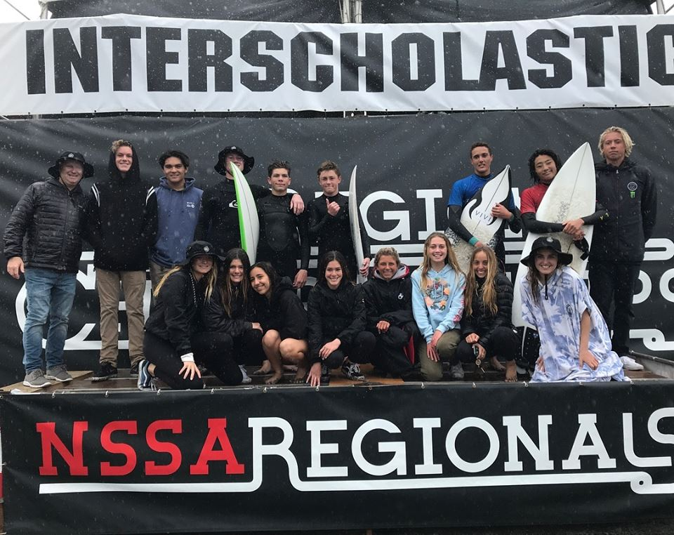 San Clemente High School and Shorecliffs Middle School won their respective state championships at NSSA Interscholastic State Championships over the weekend at Seaside Reef in San Diego. Photos: Courtesy of NSSA