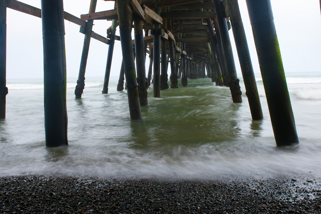 The city of San Clemente recently approved a task force to examine the water near the Pier to see what's causing high levels of bacteria. Photo: Eric Heinz