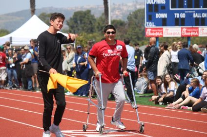 More than 200 student-athletes from three high schools and three middle schools came together for the Capistrano Unified School District's Special Olympics event on Monday, April 15 at Dana Hills High School. Photos: Lillian Boyd and Zach Cavanagh