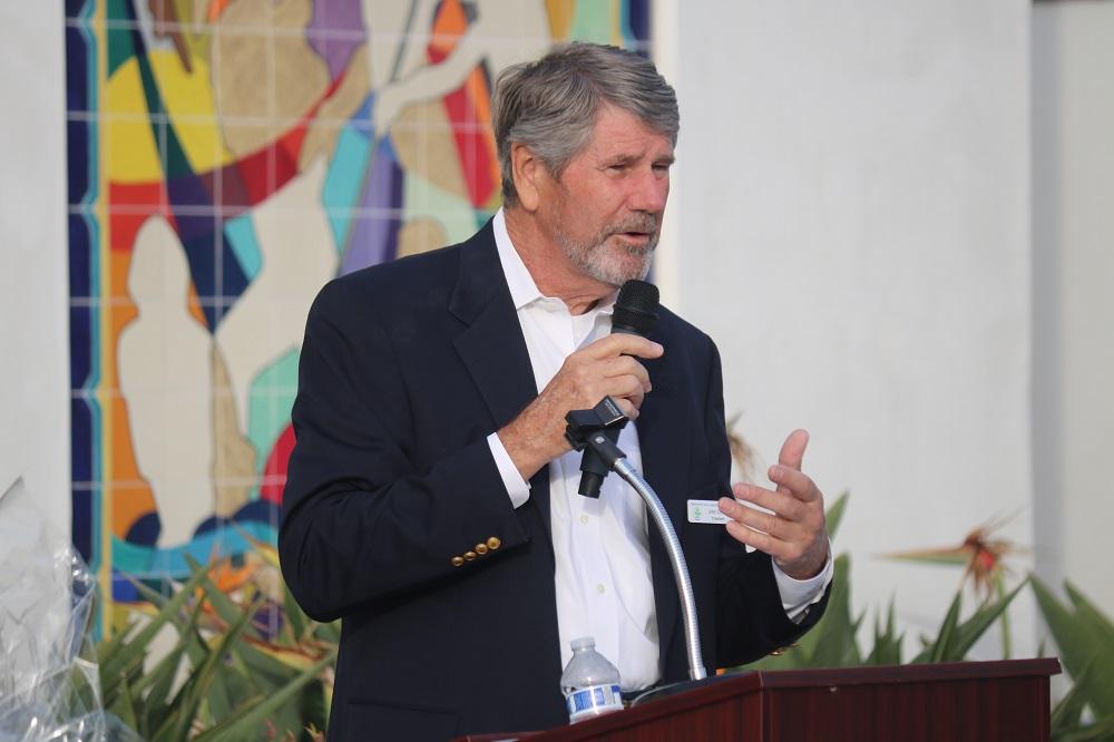 John Dorey, president of the Friends of San Clemente. Photo: Zach Cavanagh