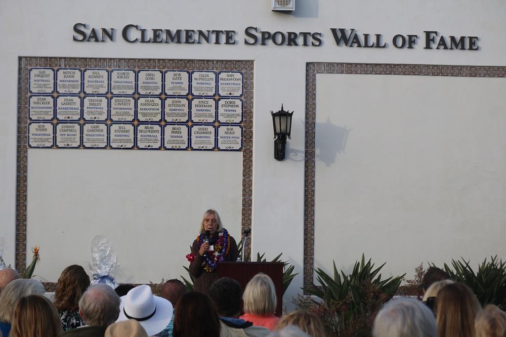 Sheri Crummer, San Clemente Sports Wall of Fame inductee. Photo: Zach Cavanagh