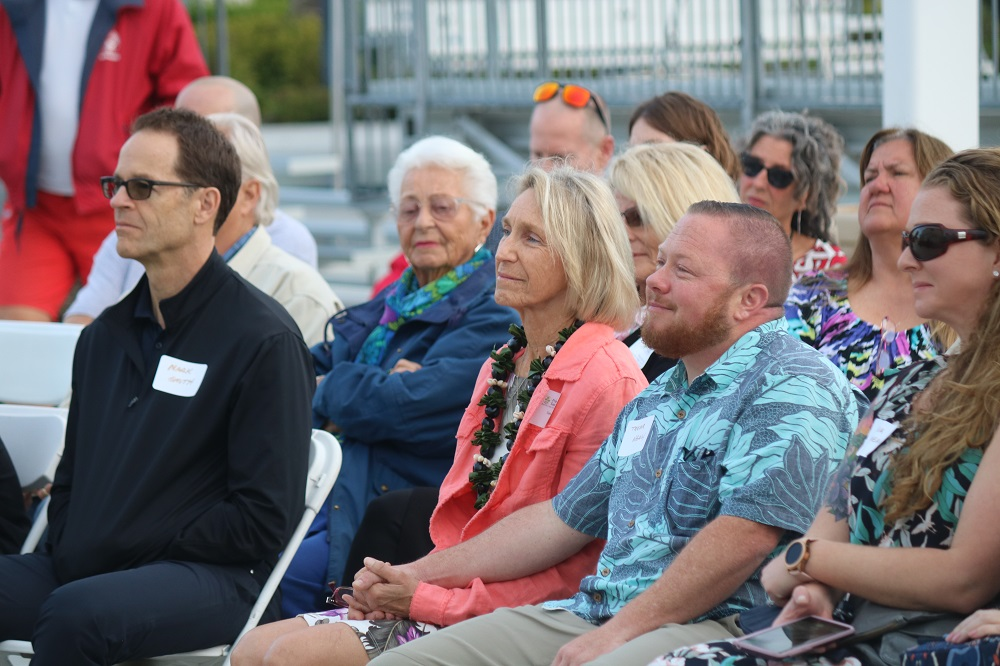 Family of Bob Nealy, San Clemente Sports Wall of Fame inductee. Photo: Zach Cavanagh