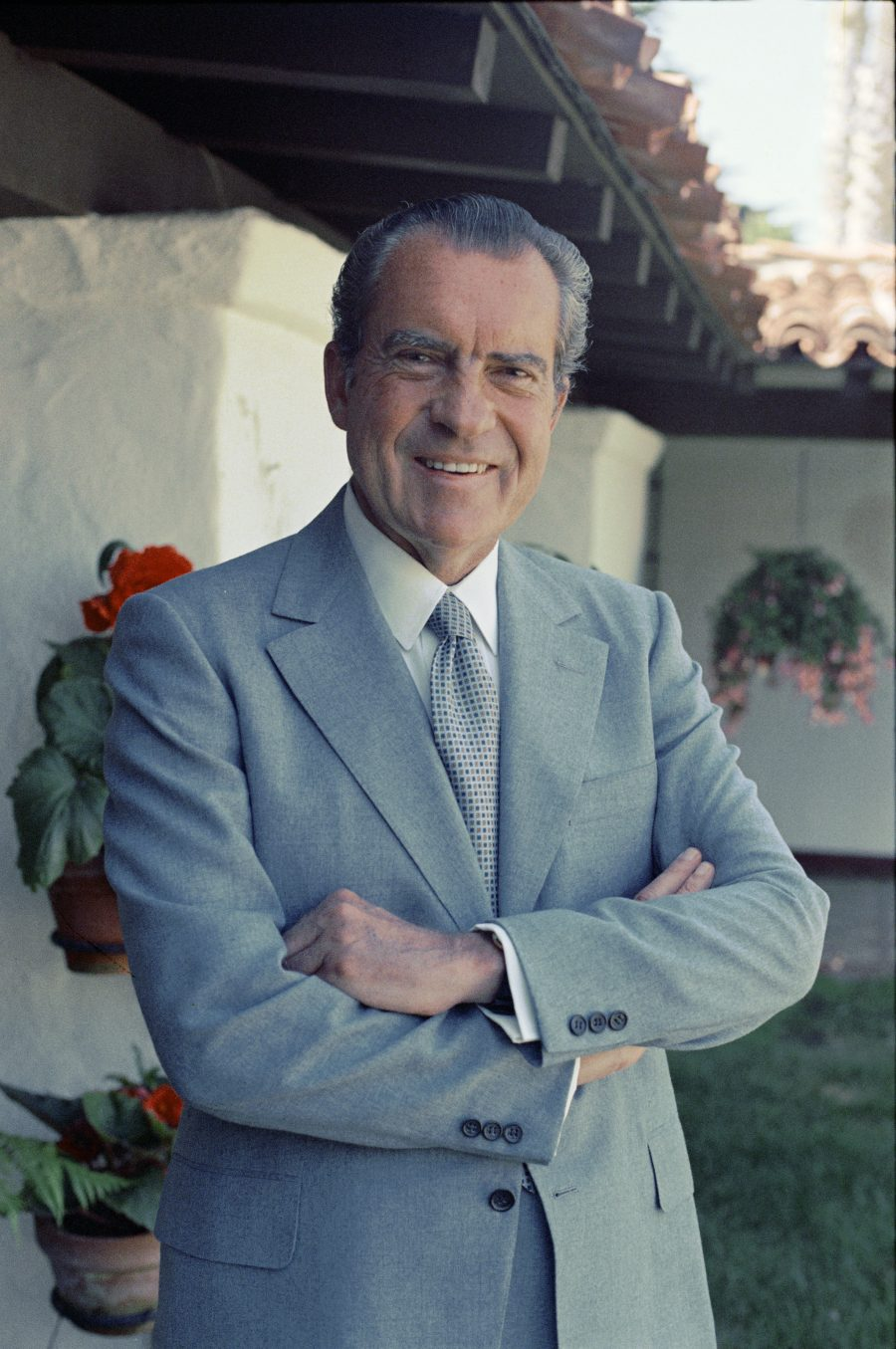 President Nixon visited San Juan Capistrano and San Clemente in March 1969 amid rumors he was purchasing a home at Cotton's Point, on the south end of San Clemente.