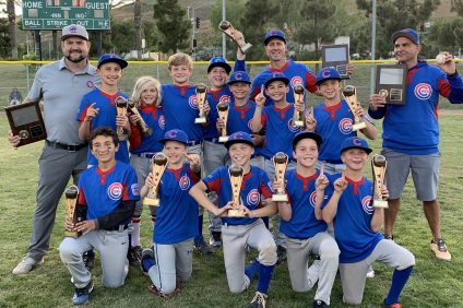 SCLL Majors Cubs. National bracket champions.
