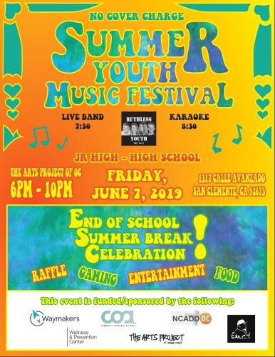Summer Youth music festival 5-2019 jpg
