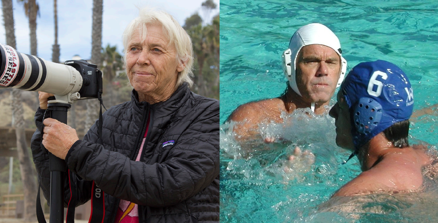 Sheri Crummer (left) and Bob Nealy will be inducted into the San Clemente Sports Wall of Fame on Saturday, May 18 at Vista Hermosa Sports Park. Photos: Courtesy