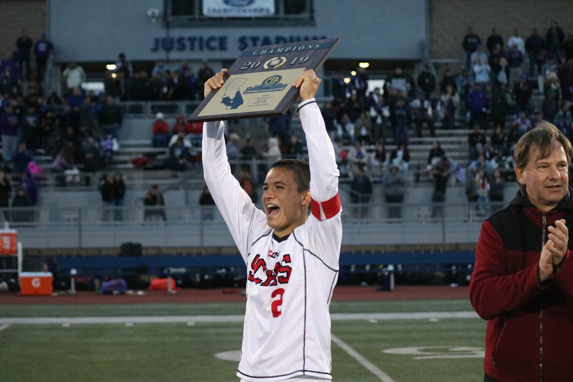San Clemente boys soccer player Blake Bowen was the second consecutive Triton to be named Gatorade California Player of the Year. Photo: Zach Cavanagh
