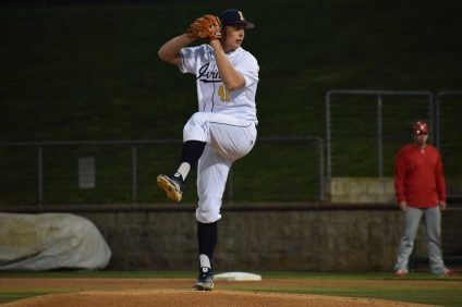 San Clemente alum Andre Pallante, pictured here with UC Irvine this season, was selected by the St. Louis Cardinals in the fourth round of the MLB Draft on Tuesday, June 4. Photo: UC Irvine Athletics.